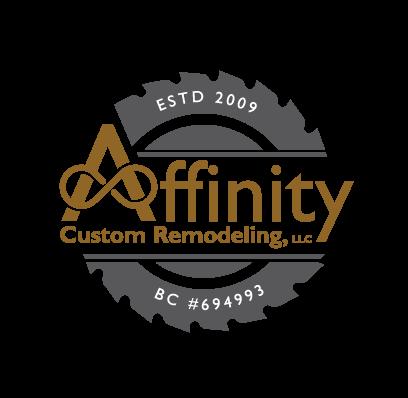Affinity Custom Remodeling Logo